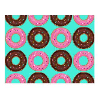 Doughnut Frenzy Postcard