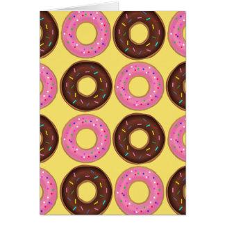 Doughnut Happy Birthday Card