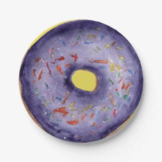 Doughnut Love - Paper Plate