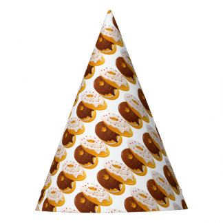 doughnut party hat
