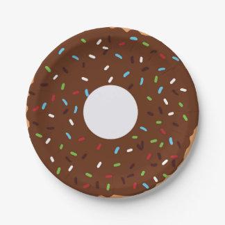 Doughnut Party Plate