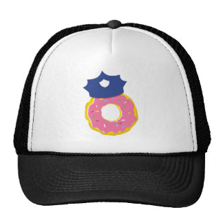 doughnut police officers hat