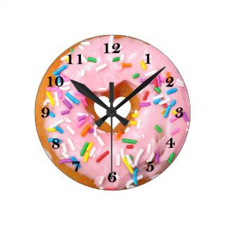 Doughnut Round Clock