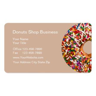 Doughnut Shop Business Cards
