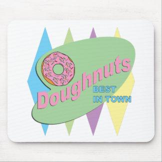 doughnut shop mouse pad