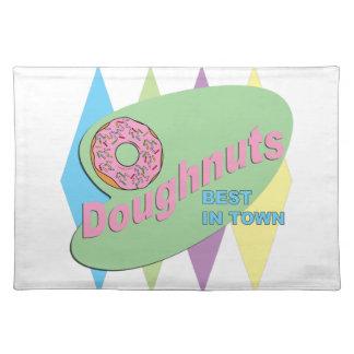 doughnut shop placemat
