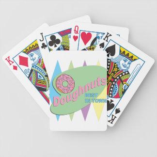 doughnut shop poker deck
