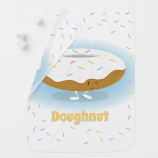 Doughnut with Sprinkles | Baby Blanket