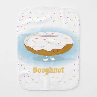 Doughnut with Sprinkles | Burp Pad Burp Cloth