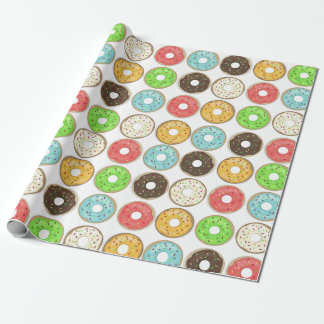 Doughnut Wrapping Paper