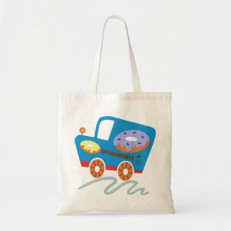 Doughnuts Car Budget Tote Bag