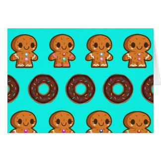 Doughnuts & coffee card