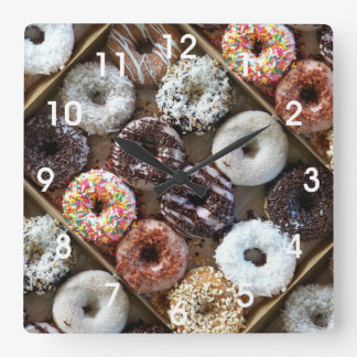 Doughnuts Donuts Photo Clocks