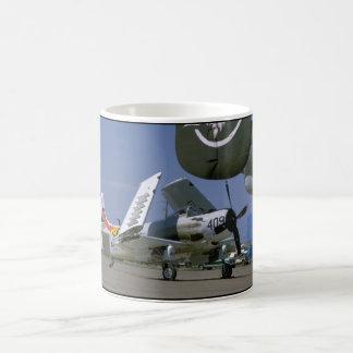 Douglas AD-1 Skyraider, Folded Wings_WWII Planes Coffee Mug