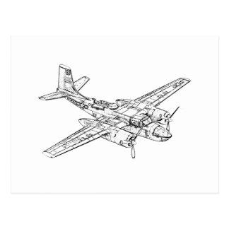 Douglas B-26 Invader Postcard