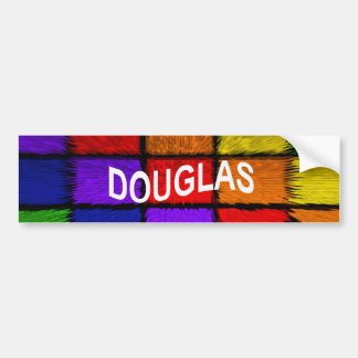 DOUGLAS BUMPER STICKER