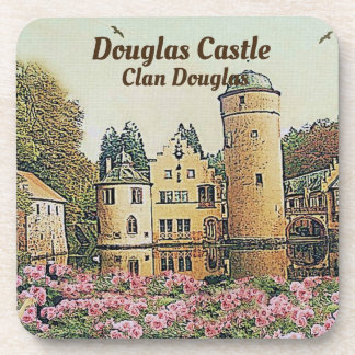 Douglas Castle – Seat Of Clan Douglas Coaster