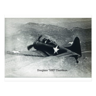 Douglas Dauntless-2 Postcard