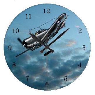 Douglas Dauntless Dive Bomber Large Clock