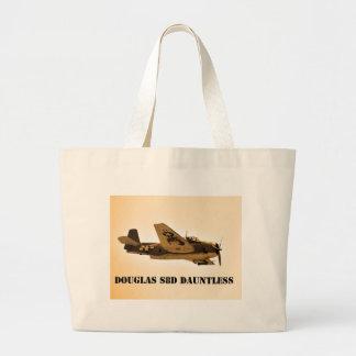 Douglas Dauntless World War 2 fighter Aircraft Tote Bags