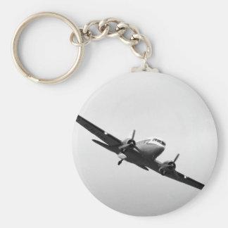 Douglas DC3 Transport Plane Keychain
