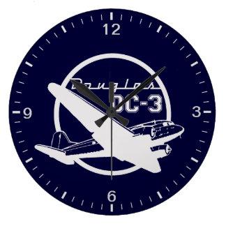 Douglas DC-3 Large Clock