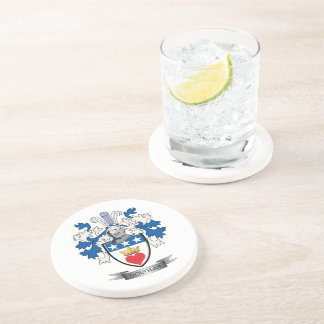Douglas Family Crest Coat of Arms Coaster