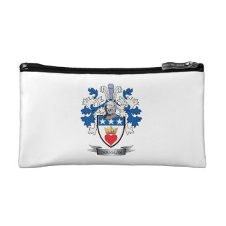 Douglas Family Crest Coat of Arms Cosmetic Bag