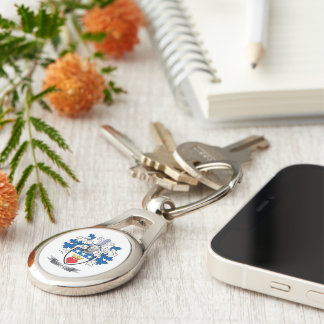 Douglas Family Crest Coat of Arms Key Ring