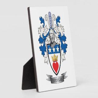 Douglas Family Crest Coat of Arms Photo Plaque