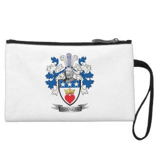 Douglas Family Crest Coat of Arms Wristlet
