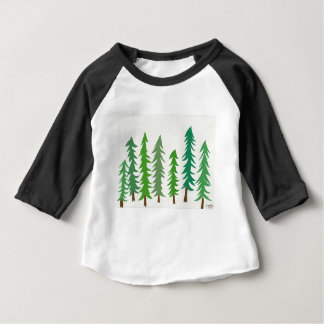 Douglas Fir Trees Baby T-Shirt
