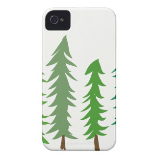 Douglas Fir Trees iPhone 4 Covers