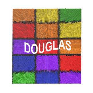 DOUGLAS NOTEPAD
