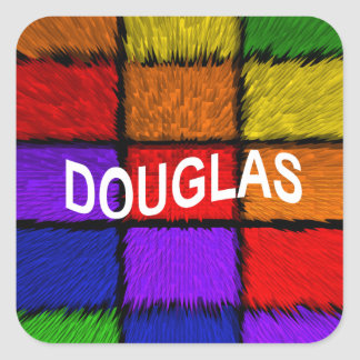 DOUGLAS SQUARE STICKER