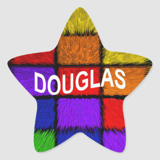 DOUGLAS STAR STICKER
