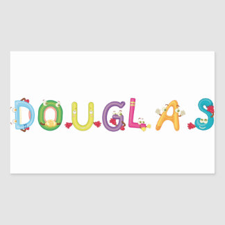 Douglas Sticker