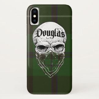 Douglas Tartan Bandit iPhone X Case