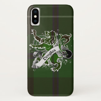 Douglas Tartan Lion iPhone X Case