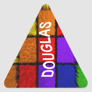 DOUGLAS TRIANGLE STICKER