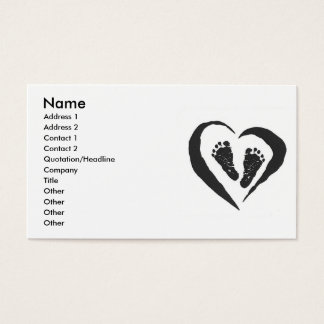 Doula Midwife  Business Card