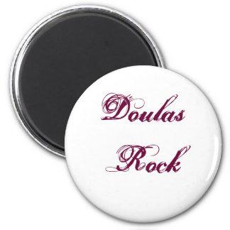 Doulas Rock magnet