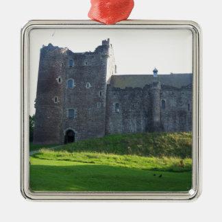 Doune Castle Scotland Metal Ornament