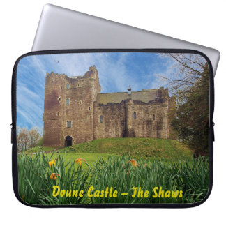 Doune Castle – The Shaws Laptop Sleeve