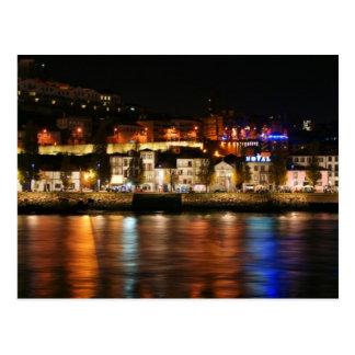 Douro river in Porto, Portugal Postcard