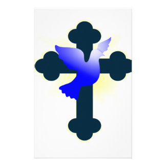 Dove and Cross Stationery