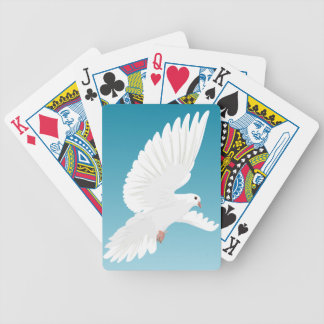 Dove Bird Birds Feather Nature Animal Wing Bicycle Playing Cards