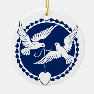 Dove Christmas Tree Decoration