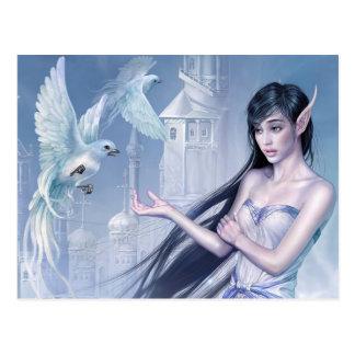 Dove eleven Princess Postcard
