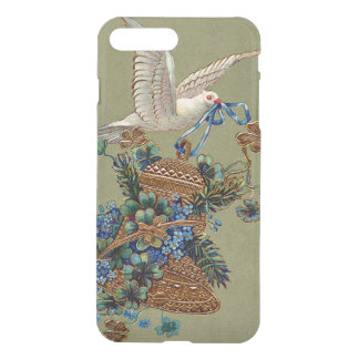 Dove Forget Me Not Four Leaf Clover Bell Evergreen iPhone 7 Plus Case